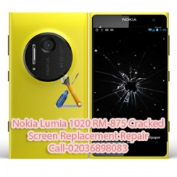 Nokia Lumia 1020 RM-875 Cracked Screen Replacement Repair