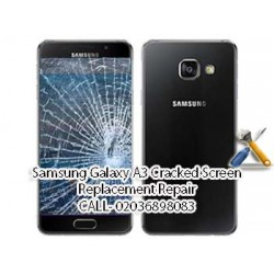 Samsung Galaxy A3 Cracked Screen Replacement Repair