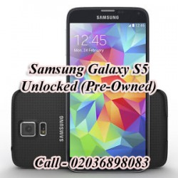 Samsung Galaxy S5 Unlocked (Pre-Owned) Mobile Phone