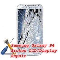 Samsung Galaxy S4 I9500 Broken LCD/Display Replacement Repair