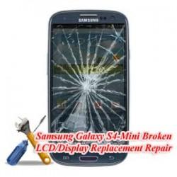 Samsung Galaxy S4 Mini I9190 Broken LCD/Display Replacement Repair