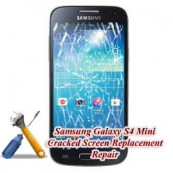 Samsung Galaxy S4 Mini I9190 Cracked Screen Replacement Repair