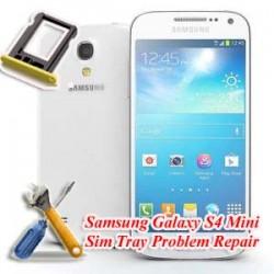 Samsung Galaxy S4 Mini I9190 Sim Tray Problem Repair