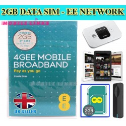 2GB Pre-Loaded EE DATA 4G Multi-SIM