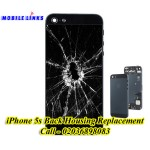 iPhone 5s Broken Back Housing Replacement Repair